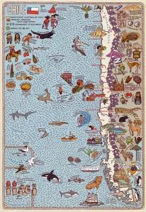 """Bild aus """"Alle Welt. Das Landkartenbuch""""; Copyright: Moritz Verlag."""