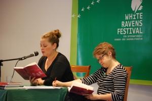 Tamara Bach und Ines Galling