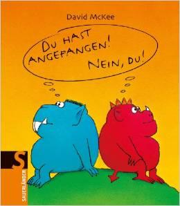 Zwei Monster von David McKee erschienen im Sauerländer-Verlag