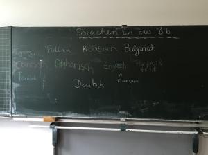 Vielfalt der Mutter- und Zweitsprachen in einer Klasse