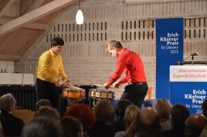 Das Percussion Duo: Peter Fleckenstein & Quirin Reichl