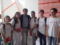 Die Jury-Mitglieder mit Luigi Garlando