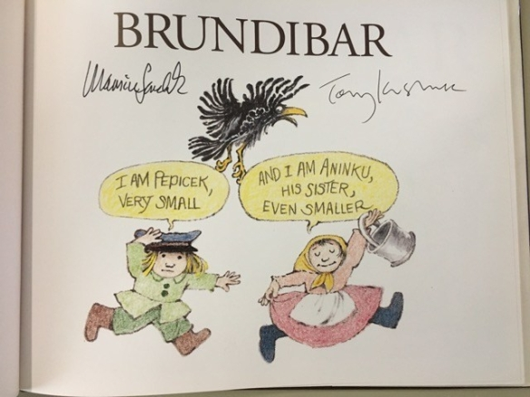Brundibar, signed copy