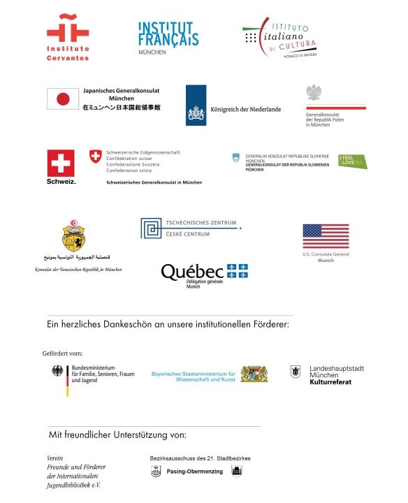 70 Jahre IJB: Logos Kulturpartner